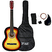 3rd Avenue Acoustic Guitar Pack - Sunburst