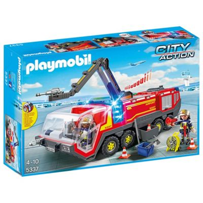 Playmobil 5337 City Action Airport Fire Engine
