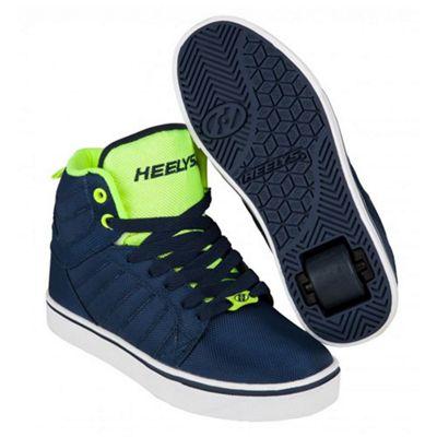 Heelys Uptown Navy/Yellow Ballistic Kids Heely Shoe JNR 13