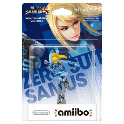 amiibo - Zero Suit Samus - Super Smash Bros. Collection