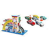 Le Toy Van Vintage Garage and Montecarlo Sports Cars