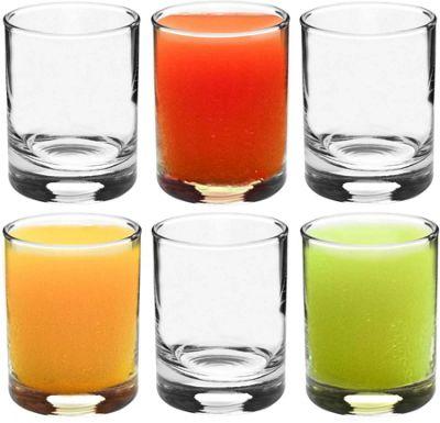 Rink Drink Shot / Liqueur Glasses - Gift Box Of 6 Shot Glasses - 65ml