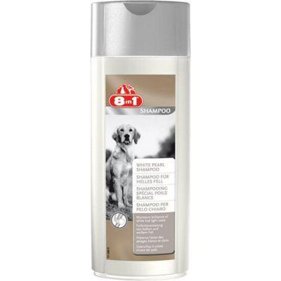 8 in 1 White Pearl Dog Shampoo 250ml