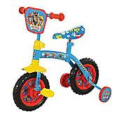 """Paw Patrol Kids 2-In-1 Convertible Training Balance Bike - 10"""" Wheels"""