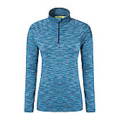 Mountain Warehouse Isocool Dynamic Womens Half Zip Top ( Size: 16 )