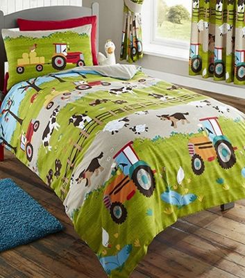 Farmyard Animal Double Duvet