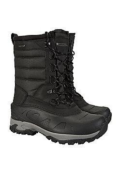 Mountain Warehouse Ice Peak High Snow Boot - Black