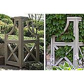 Yardistry Corner Garden Accent