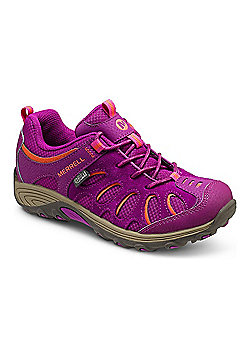 Merrell Kids Cham Low Lace Shoes - Fuchsia