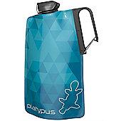 Platypus DuoLock Soft Collapsible Bottle 1L Blue Prisms