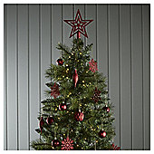 Red Mixed Christmas Tree Decorations, 50 Pack