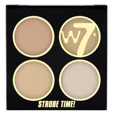 W7 It's Strobe Time Blush Shimmering Powder Kit-It's Glow TIme