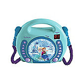 Disney Frozen CD Player with Microphones