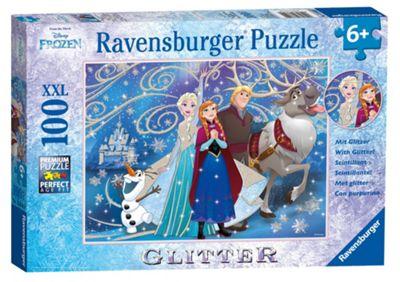 Frozen - Glittery Snow - 100XXLpc Puzzle