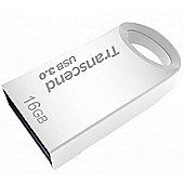 Transcend JetFlash TS16GJF710S 16GB USB 3.0 (3.1 Gen 1) Type-A Metallic