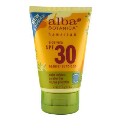 Aloe Vera Sunscreen SPF30