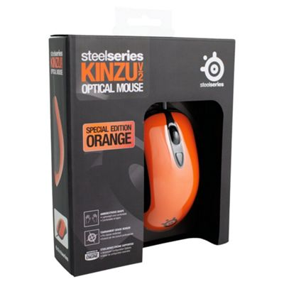 SteelSeries Kinzu v2 Gaming Mouse - Orange