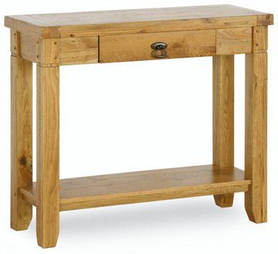 Kelburn Furniture Veneto Rustic Oak Side Table