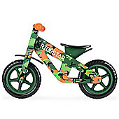 RideStar Camo Wooden Balance Bike - Green