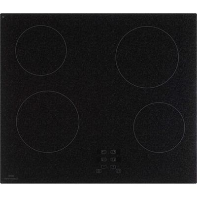 New World NWTC601GNT Frameless 60cm Built in Ceramic Hob with Touch Controls in Granite