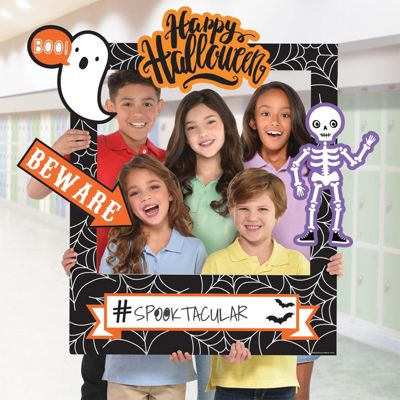 Customisable Halloween Photo Frame Prop - 88cm