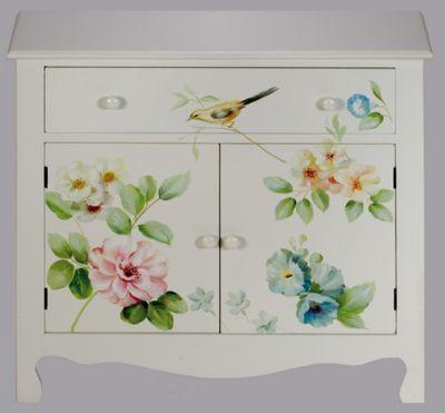 Spring Time 2 Door Cabinet