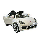 Kids Electric Car Luxury SUV 6 Volt White