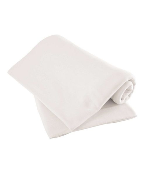 Mamas & Papas - Waterproof Fitted Sheet- White
