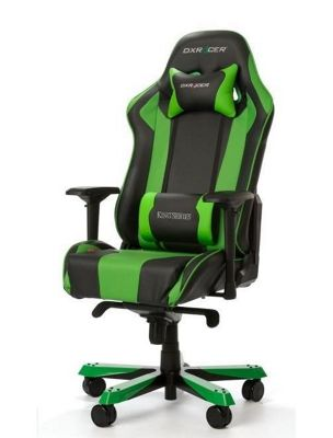 DXRacer King Series Gaming Chair - Black / Green - K06-NE