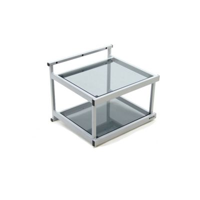 Apollo WT2 SE Tinted Glass Wall Rack - Silver Metallic