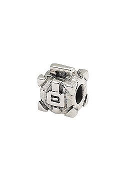 Amore & Baci Teen Silver Suitcase Spacer Bead