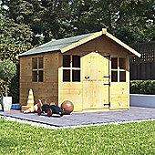 6x5 BillyOh Lollipop Junior Children Wooden Playhouse Outdoor Playground - Premium 6ftx5ft