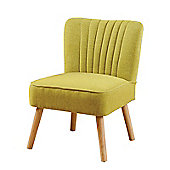 Lola Oyster Lime Retro Chair
