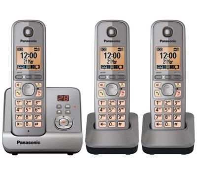 Panasonic KX-TG6723EM cordless telephone - Set of 3