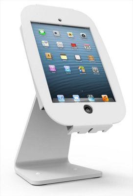 Maclocks 303W235SMENW White tablet security enclosure iPad mini 360 Kiosk