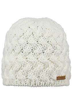 Barts Ladies Swirlie Beanie - White