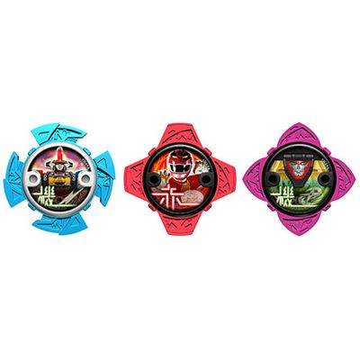 Power Rangers Ninja Steel Power 3 Pack (43767)