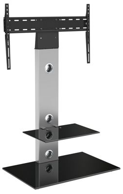 AVF Lesina Cantilever TV Stand for TVs up to 55 inch - Silver