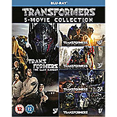 Transformers: The Last Knight 5-Film Collection BD