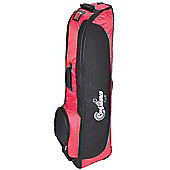Confidence Golf Bag Travel Cover With Wheels Red