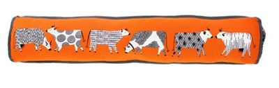 Ulster Weavers Curious Cows Design Draught Excluder