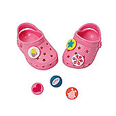 Baby Born Customisable Pin Shoes - Light Pink