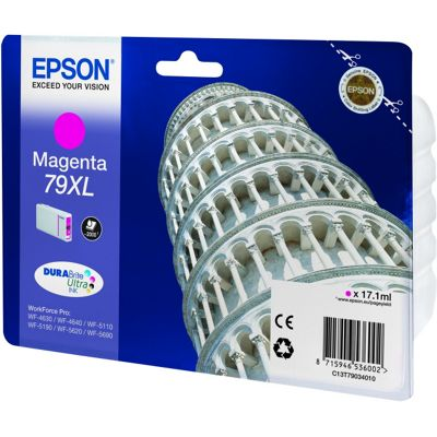 Epson 79XL Magenta DURABrite Ultra Ink Cartridge (17.1 ml)