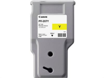 Canon PFI-207 Y Yellow ink cartridge