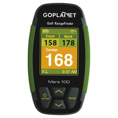 GoPlanet Mars100 Golf GPS with 10 Free Courses