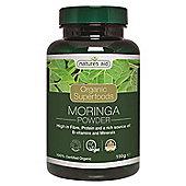 Natures Aid Organic Moringa Powder - 150g