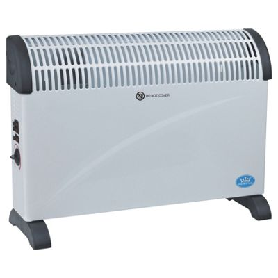 Prem-i-air 2 kW Convector Heater With Turbo Fan - White