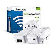 devolo dLAN 550+ WiFi Starter Kit Powerline