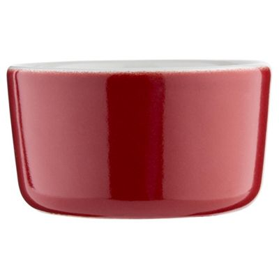 Tesco Ceramic  9cm Ramekin Red