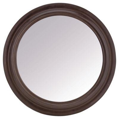 Porthole Mirror Brass